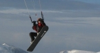Snow kite - Bucegi
